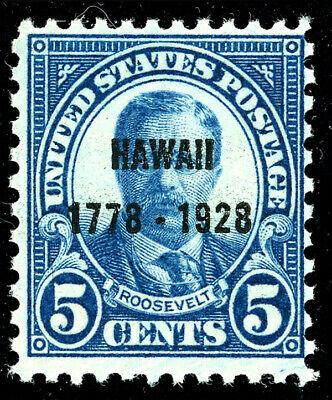 US Scott # 648 Hawaii 5¢ Overprint (1928)  MNH***FREE SHIP***