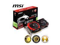 MSI Geforce GTX 970 gaming 4g (4096 MB) Graphics Card Brand new