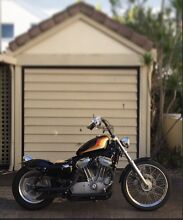 Harley Davidson XLC 883 sportster '08 bobber chopper short chop Miami Gold Coast South Preview