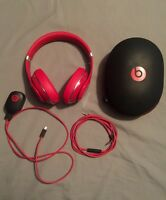 Beats by Dr. Dare Studio Headphone - Red