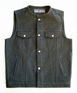18oz Heavy Denim Vest CLUB