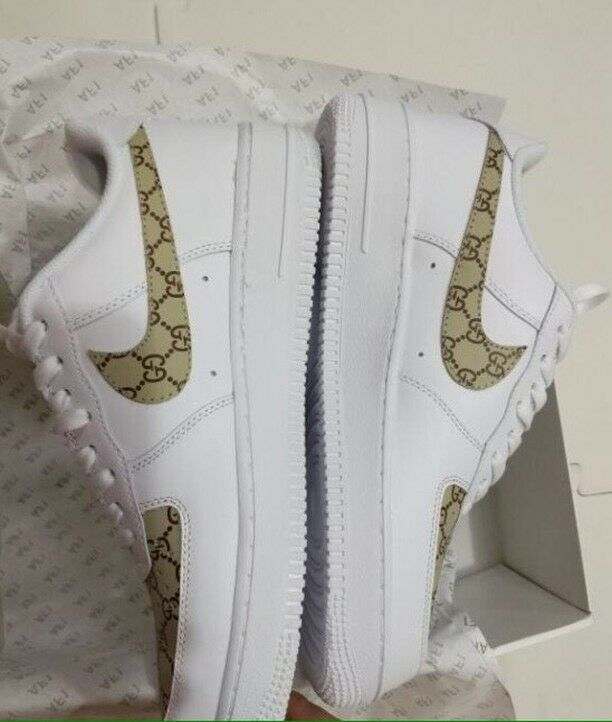 1a7b4a47159 Nike x Gucci x Airforce 1  Custom