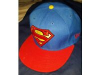 Superman Snapback Cap - Official