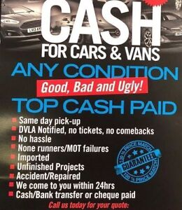 CALL MIKE✨✨ WE PAY THE HIGHEST FOR SCRAP CAR ✨✨647-633-1034
