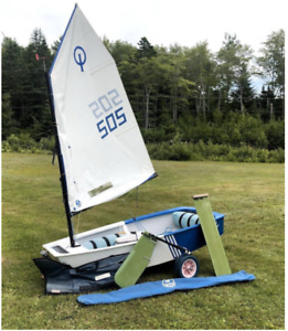 Zim Opti Sail Boat