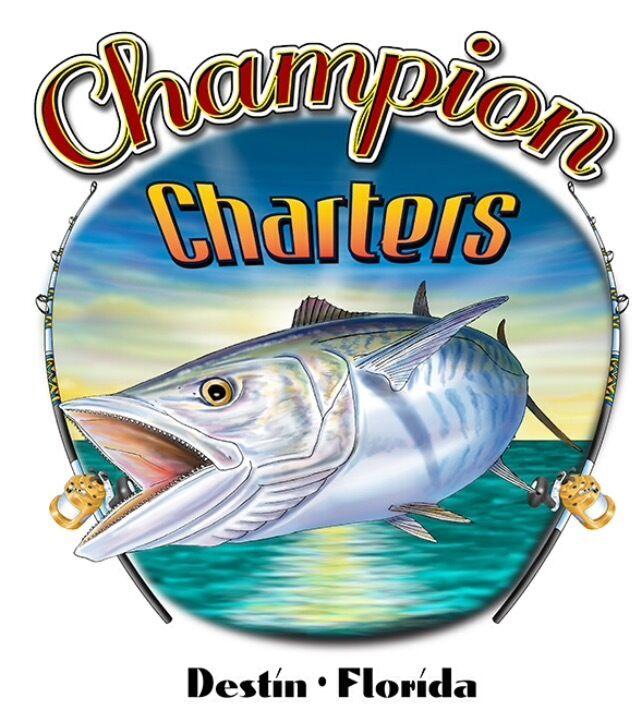 Fishing Charter in Destin, FL (up to 6 ppl) 6 Hr Trolling/Bottom Fishing $900