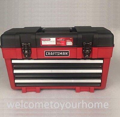 "Craftsman 23"" Extensive Portable Tool Chest Organizer Garage Storage Mechanic Box"