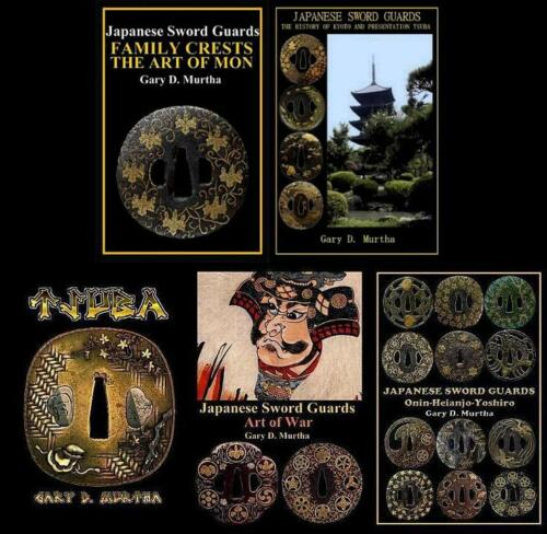 5 English Language Japanese Samurai Sword Guard Tsuba Books 2012-17