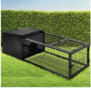 i.Pet Rabbit Cage - Metal Cage hutch (122CM Length)