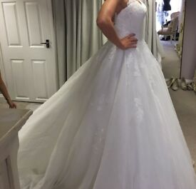 Wedding Dress, NEW. Size 8-10 UK