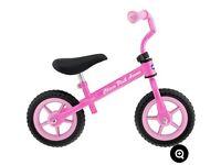 Chicco pink balance bike