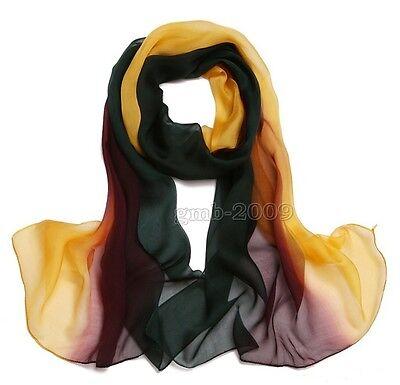 New Women Fashion Girls Long Soft Chiffon Scarf Wrap Shawl Scarves Stole