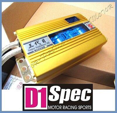 D1 Spec Voltage Stabilizer Battery Condenser Charging System Blue