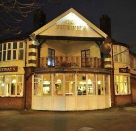 Bar Person The Fiveways Pub Norwich