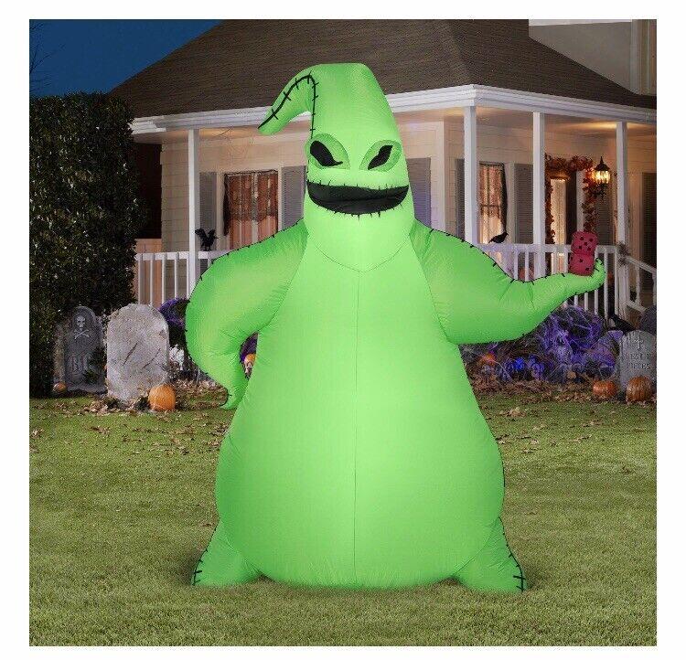 Disney Nightmare Before Christmas OOGIE BOOGIE Halloween Airblown Inflatable NEW