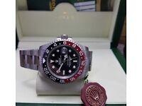 Rolex gmt master II Swiss ETA AAA 1:1 £90