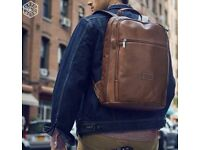 """Jekyll and Hide Leather Backpack, 15"""" Montana Rucksack Luggage"""