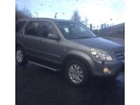 2005 HONDA CRV 2.2 CDTI SPORT 4X4 MOTD TO JULY SERVICE HISTORY PARKING SENSORS ALLOY WHEELS VGC