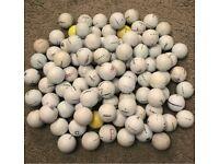 Titleist Mix x100 Grade B/C golf balls