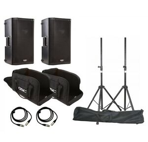 QSC K10 Speaker System Package - Free Shipping Anywhere -