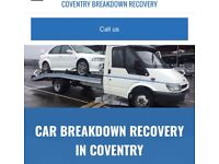 24/7 RECOVERY! + BREAKDOWN! + SCRAP CARS WANTED!