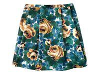 Cath kidston Oxford rose skirt size 12