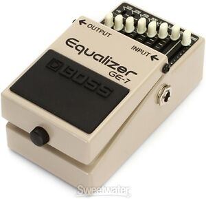 BOSS GE-7  EQUALIZER / CLEAN BOOST