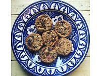 Baker in NW London, bake for parties, brownies, cookies, cakes, breads. Vegan, healthy options