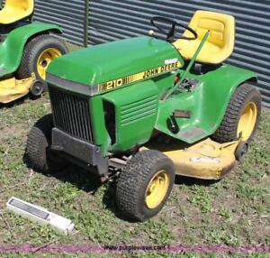 Wanted: PTO Clutch for John Deere 210