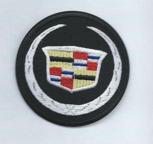 NEW 3 INCH CADILLAC IRON ON PATCH FREE SHIPPING P1
