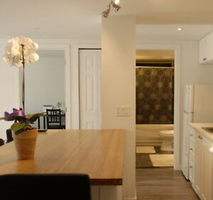 RENOVATED 41/2 FULLY FURNISHED