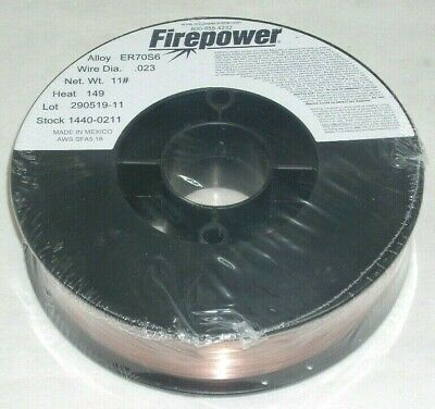 Victor Firepower Er70s-6 Gas Shielded Mig Welding Wire .023 Dia 11 Lbs