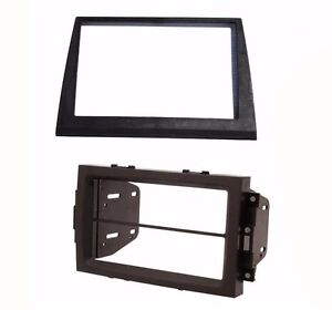 Radio Stereo Double Din Dash Install Kit Bezel Fits 2006-2007 Jeep Commander