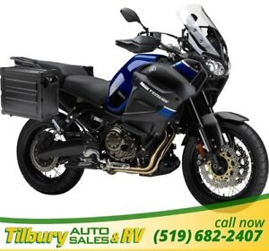 2018 Yamaha Super Tenere ABS 1199cc, liquid-cooled, DOHC engine.