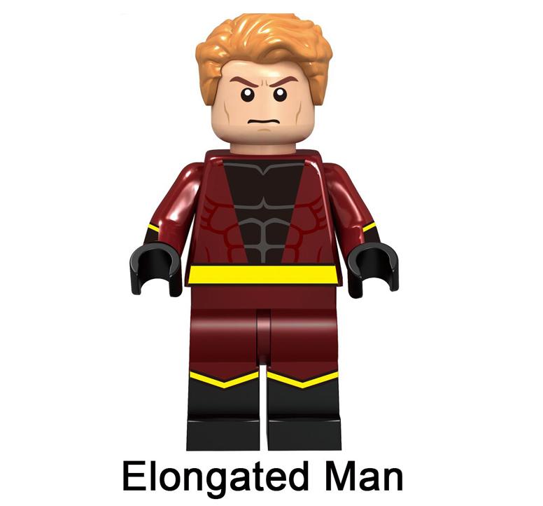 Minifigure Rare Custom Lego Elongated Man Character Marvel Dc