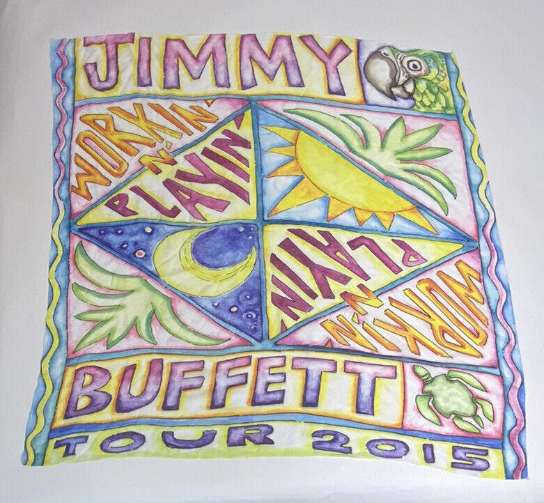 Jimmy Buffett 2015 Workin