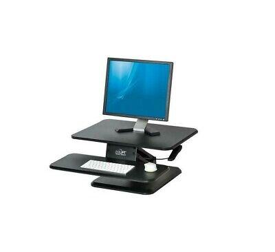 Standing Desk Converter Workstation Riser Office Airlift Black 25 In Adjustable