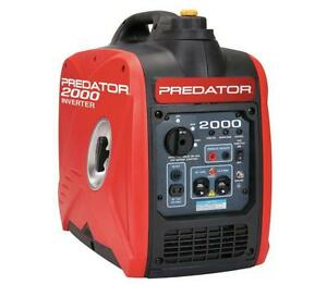 HOC - 2000 PEAK/1600 RUNNING WATTS, 2.8 HP (79.7CC) PORTABLE INVERTER GENERATOR + 1 YEAR WARRANTY + FREE SHIPPING