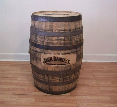 Jack Daniels Double Branded Whiskey Barrel-FREE SHIPPING