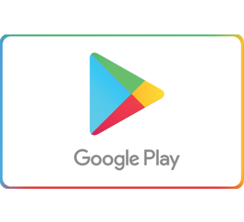 Google Play Gift Code - $25 $50 or $100 - email delivery