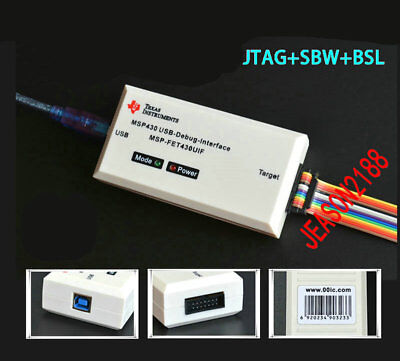Usb Msp430 Emulator Ti Msp-fet430uif Download Debugger Support Jtagbslsbw