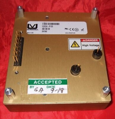 Ultra Volt 0 - 500 Volt Power Supply 12c24-p125 Capacitor Charging High Voltage