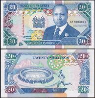 Kenia - Kenya - 20 Shilingi 1993 Qfds - Aunc -  - ebay.it