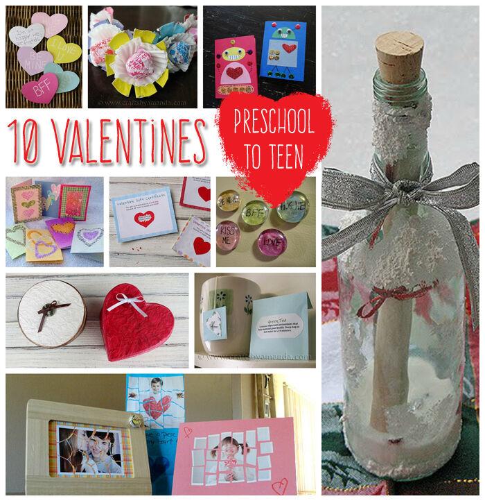 Teen valentines day craft ideas