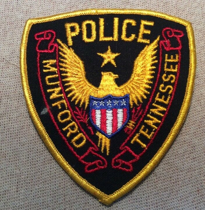TN Munford Tennessee Police Patch
