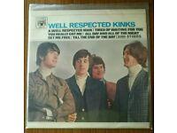 WELL RESPECTED THE KINKS VINYL
