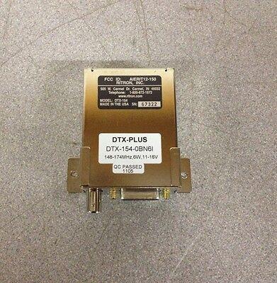 Ritron Dtx-154-obn6i Dtx-plus 148-174mhz 6w 11-16v Wireless Data Transceiver