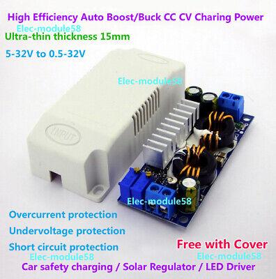 40w Cc Cv Dc 5v-30v To 3.3v 5v 24v 12v 6a Boostbuck Converter Led Driver Solar