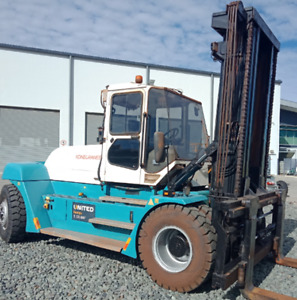 Used Konecranes 16T Forklifts SMV16-1200B Altona Hobsons Bay Area Preview