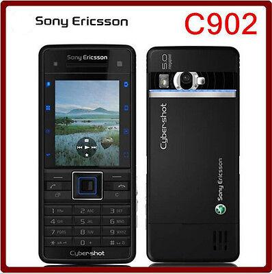 Original Unlocked Sony Ericsson C902 Cell phone 3G 5MP Bluetooh MP3 MP4 Player Mp4 Sony Ericsson